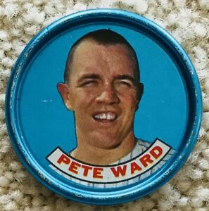 1965 OLD LONDON BASEBALL COIN PETE WARD CHICAGO WHITE SOX