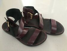 ZADIG and VOLTAIRE Leather Sandals - size 39