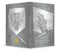 OAK LEAF 2019 SILVER PROOF MYTHICAL FOREST 5 MARKS GERMANIA MINT 9999,99% PURO