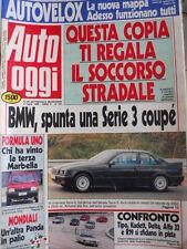 Auto OGGI n°187 1990 Test Ippodromo Delta Tipo Alfa 33 Renault  [Q201]