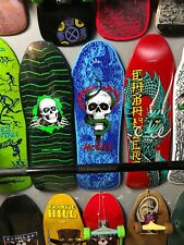 Powell Peralta Mike McGill Skull And Snake Skateboard Blue Limited Reissue