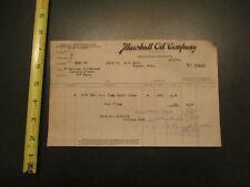 Marshall Oil Company Gas Oil  Minneapolis MN 1919 Letterhead 364