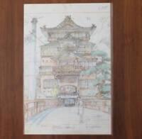 Studio Ghibli SPIRITED AWAY Limited Original Picture Art Hayao Miyazaki Anime