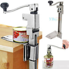 Commercial Kitchen Catering Tin Can Opener Heavy Duty Bench Clamp Mount Cookwear