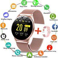 Smart Watch For Women LIGE Fitness Multifunctional Waterproof watch FREE Band