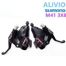 SHIMANO ALIVIO SL-M410 Shifters Trigger Set 3x8S Cable