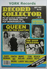 RECORD COLLECTOR MAGAZINE - Issue 133 - September 1990 - Queen / Hendrix