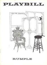 1957 Playbill Rumple Gretchen Wyler Eddie Foy RARE