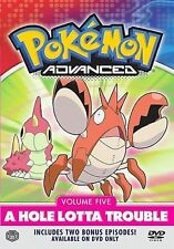 Pokemon Advanced, Vol. 5 - A Hole Lotta Trouble DVD, ,