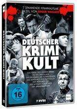 Deutscher Krimi-Kult * 7 Kriminalfilme im Stil von Edgar Wallace * Pidax Neu