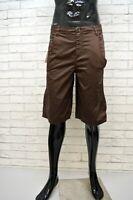 GAS Bermuda Uomo Taglia 42 Pants Pantalone Corto Shorts Cotone Casual NUOVO