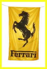 FERRARI FLAG BANNER  LARGE DEALERS GOLDEN f50 5 X 3 FT 150 X 90 CM