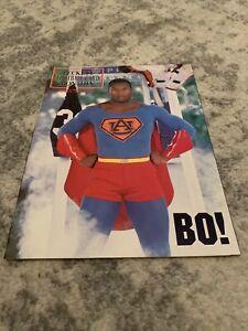 BECKETT FOOTBALL CARD MONTHLY #10 Bo Jackson Superman Cover JANUARY 1991