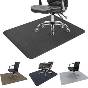 Non-slip Desk Chair Mat Carpet Protector Scratches Home Office Floor Mat Durable