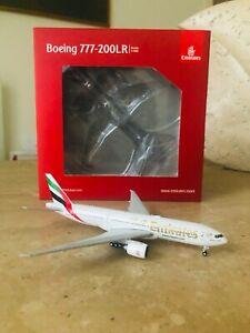 "RARE 1:400 GeminiJets Emirates Boeing 777-200LR ""A6-EWI"""
