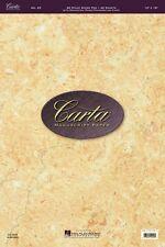No. 23 Carta Score Manuscript Paper Sheet Music  - Hal Leonard NEW 000210073
