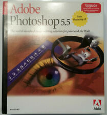 Adobe Photoshop 5.5 Upgrade for Win 95, 98, NT - Very Good in Box
