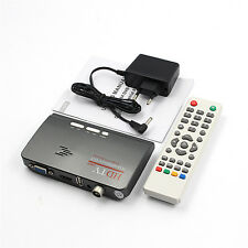 Hdmi Dvb-T T2 Dvbt2 Tv Vga Receiver Converter With Usb Tuner Remote Control JD