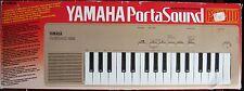 Rare Vintage Yamaha PSS-110 Mini Keyboard with Human Voice Sample + Box & Power