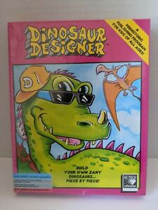 1991 Dinosaur Designer Prehistoric Desktop Publishing Software Kids IBM/TANDY