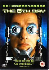 The 6TH DAY (2000) DVD  ARNOLD SCHWARZENEGGER  REGION 4