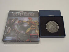 Blufans Real Steel Viva Metal Case with Coin Blu Ray