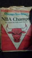 CHICAGO SUN-TIMES~JUNE 14, 1991~NEWSPAPER~1ST. N.B.A.CHAMPIONSHIP~CHICAGO BULLS!