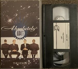 ABC ABSOLUTELY (THE VIDEOS)-MUSIC-VHS VIDEO SMALL BOX/CHANNEL 5 VIDEO.