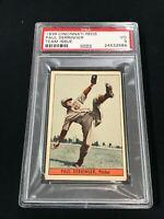 1939 Cincinnati Reds Team Issue W711-1 PAUL DERRINGER PSA 3 ~SC3-584