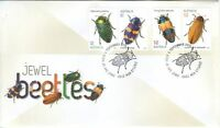 "2016 FDC Australia. Jewel Beetles. Beetle PictFDI ""JEWELLS"""