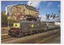 CPM 57000 THIONVILLE TRAIN BB 12035 rame fret février 1997 musée des cheminots