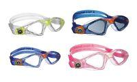 AQUA SPHERE Kayenne Junior Swimming Goggles + Caps Child kids Swim pool goggles