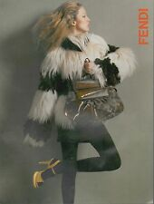 ▬► PUBLICITE ADVERTISING AD FENDI 2007 3 pages