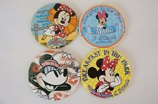 Disney World Button Minnie Selection Friends Breakfast in The Park