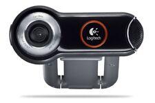 NEW Logitech Pro 9000 Webcam w 2 MP Optical Resolution Carl Zeiss Lens Optics