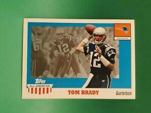 2003 Topps All American Football #41 Tom Brady