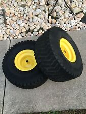 John Deere LT155 LT166 LT160 LT180 Lawn Mower 20X10.00-8 Rear Turf Tires/Wheels