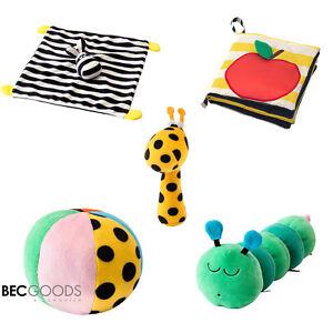 IKEA KLAPPA – Stoffspielzeug, Ball, Bilderbuch, Giraffe, Wurm, Zebra - NEU