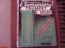 ed Arnold: Everybody's Favorite Elementary Trumpet Solos, trumpet/piano (Amsco)