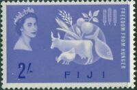 Fiji 1963 SG328 2/- Freedom from Hunger QEII MNH