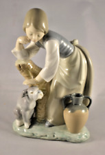 Lladro #1246 Caress And Rest - Caricia Y Descanso - Glossy Finish - No Box