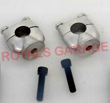 CHOPPER BIKES ROYAL ENFIELD CLASSIC ELECTRA AVENGER HANDLE BAR RISER & BOLTS