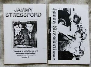 Morrissey fanzines Jammy Stressford issues 1 & 2. Zine  The Smiths