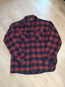 SCORPION COVERT MENS RIDING FLANNEL WITH ELBOW AND SHOULDER PADS SIZE 3XL