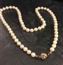 Außergewöhnliches Collier 51cm Echte Perlen Barock 13x20mm Nature Farbe Geschenk