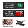 2 x Magnetic Hide-A-Key Holder Holders Extra Case Storage Magnet Spare Container