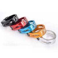 MTB Bike Bicycle Seat Post Clamp Collar Lock 31.8mm/34.9mm Ultra-Light Saddle