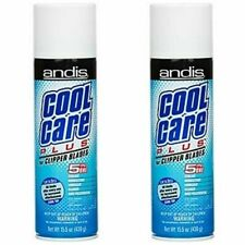 Andis Cool Care Plus 15.5 Oz Spray For Clipper/Trimmer 5in1 (2 Pack)