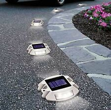 Solar Powered 6 LED Garden Road Stair Dock IP68 Security Lights automatic
