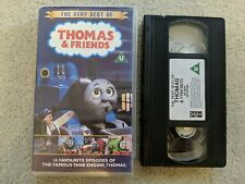 The Very Best of Thomas & Friends VHS Video Retro